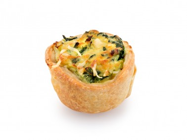 Mini SPINAT Tart Fasting